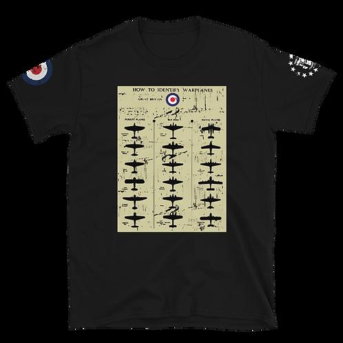 British Warplanes Chart