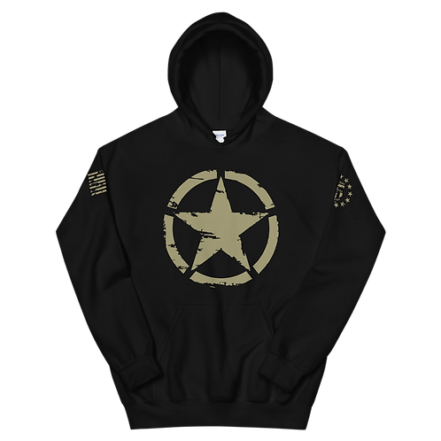 US Army Star Pullover Hoodie