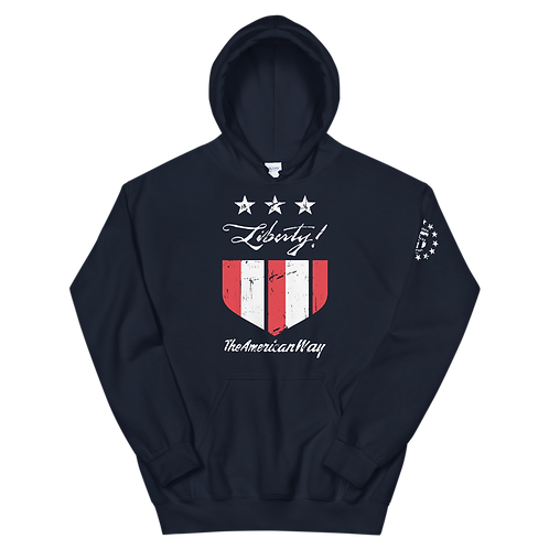 Liberty...The American Way! Pullover Hoodie