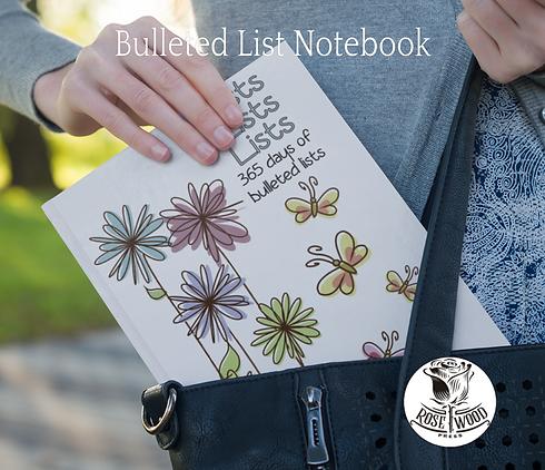 Flowers and Butterflies - Bullet List No