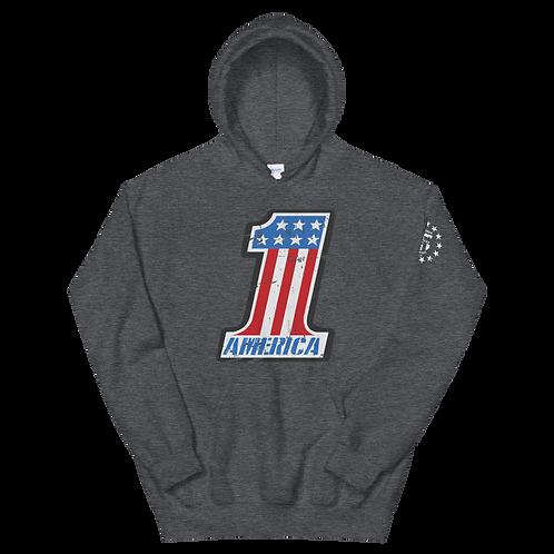 America #1 Pullover Hoodie