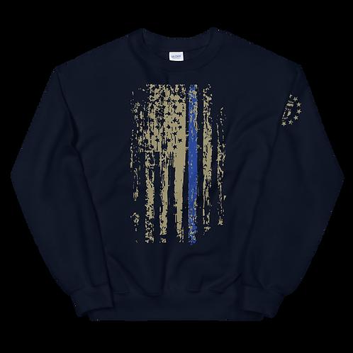 Blueline Support Pullover Sweatshirt