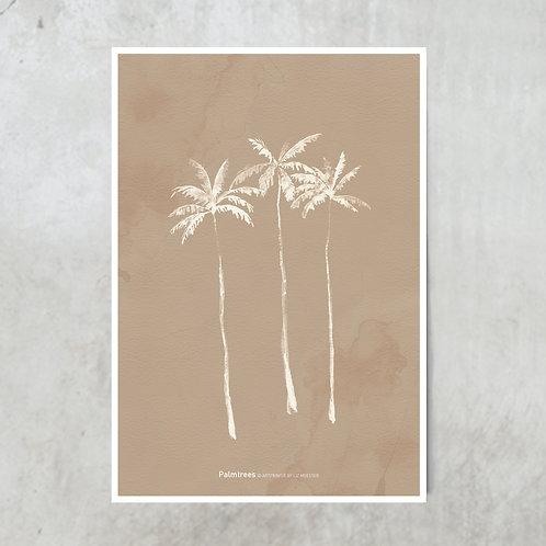 Palmtree nude | Tuinposter 300x420mm