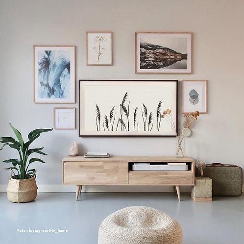 Plumes | Frame TV -  digitale afbeelding
