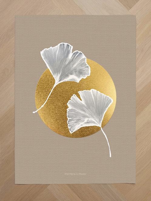 Canvas | Circle Ginkgo
