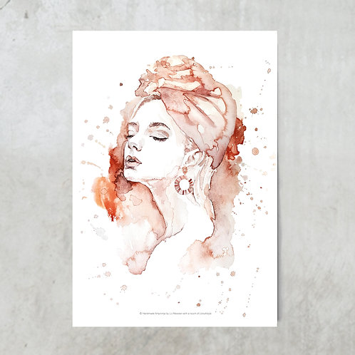 Bohemian woman | Tuinposter 300x420mm
