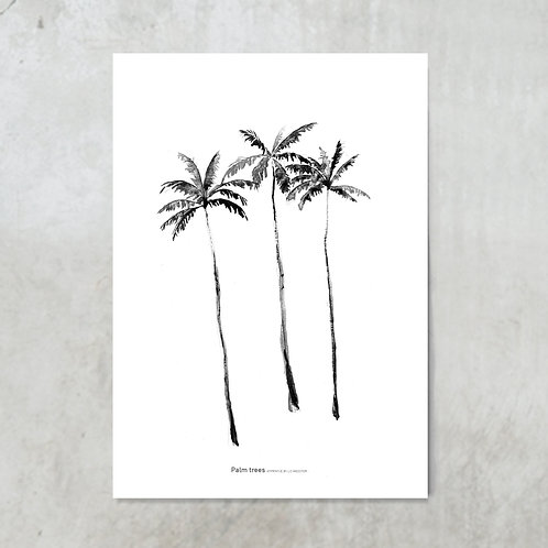 Palmtrees | Tuinposter 300x420mm