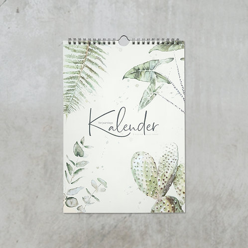 Botanische verjaardagskalender
