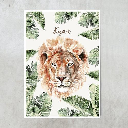 Lion | Met naam