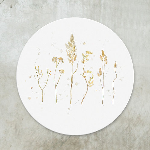 Serie dried flowers | Deco circle