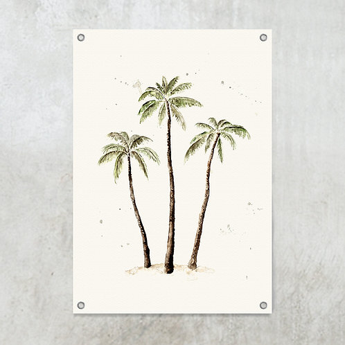 Palmtrees color | Tuinposter
