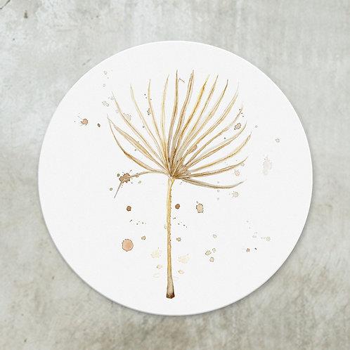 Dried Chamaerops leaf | Deco circle