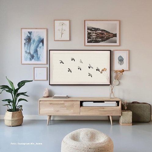 Birds  | Frame TV -  digitale afbeelding