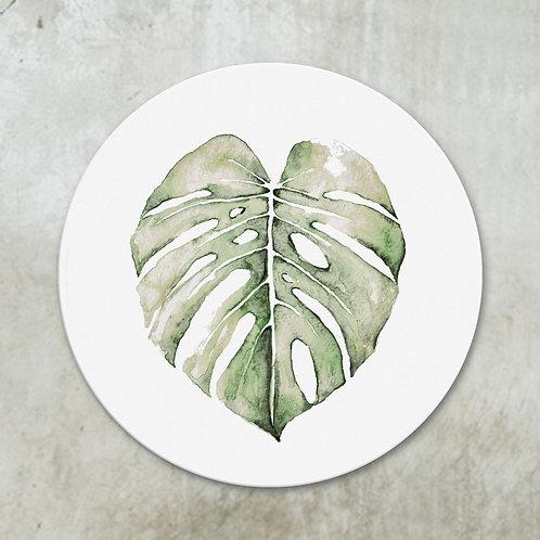 Monstera leaf | Deco circle