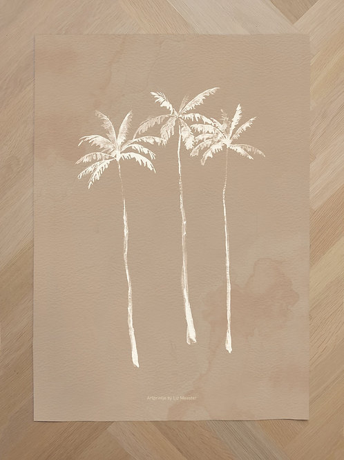 Canvas | Palmtrees nude