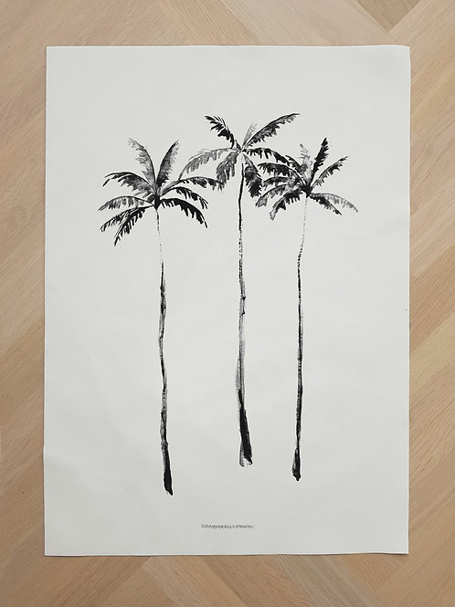 Canvas | Palmtrees
