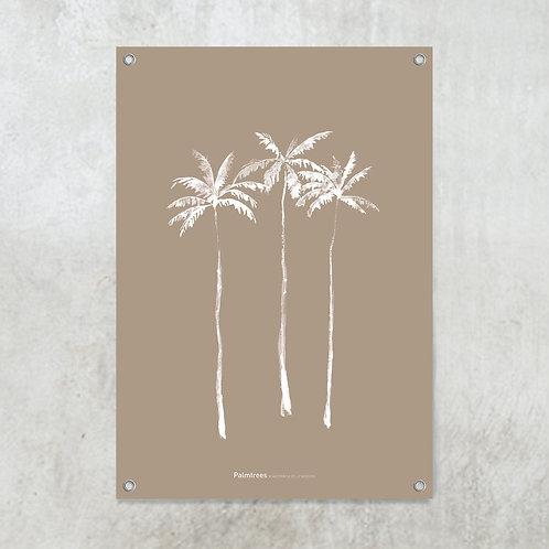 Palmtrees nude | Tuinposter