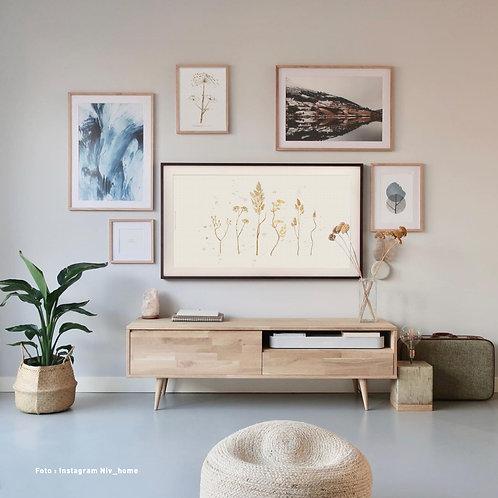 Dried range of plants | Frame TV -  digitale afbeelding
