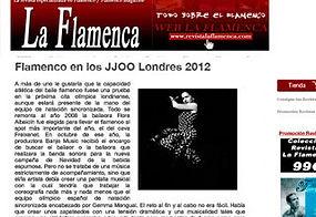 Anna Tarres, Flamenco Olimpico, Andrea Fuentes, Ona Carbonell, Libelula Tv Films, Alejandro Panno, Maria Vernet, Flora Albaicin