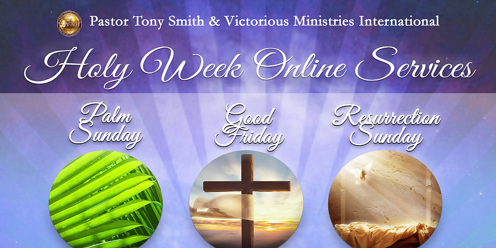 Holy Week Online Services