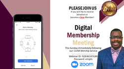 Digital Salvation & Membership