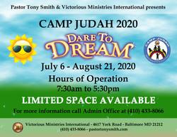 CAMP JUDAH 2020