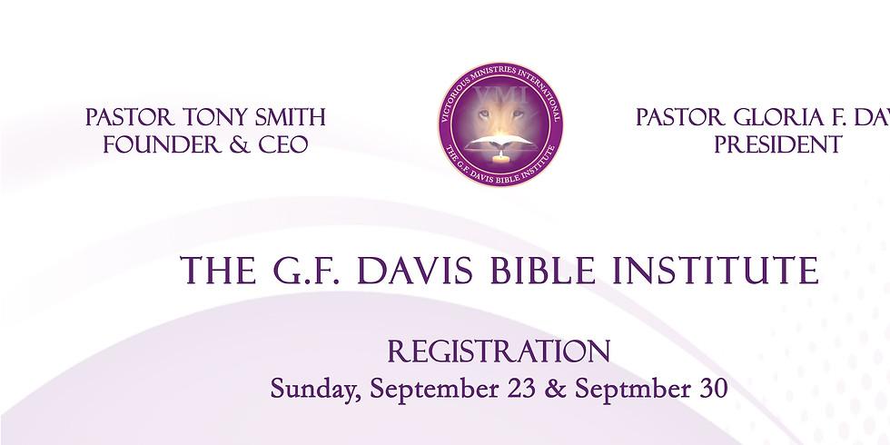 The G.F. Davis Bible Institute