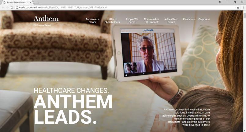 Anthem Insurance 2017 Annual Report