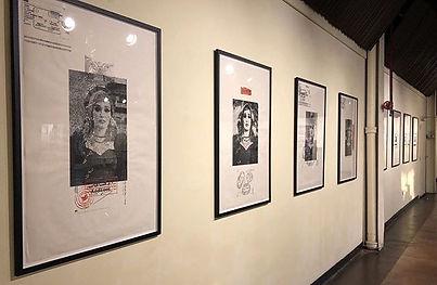 Installation shot, Art Works Gallery, Richmond VA 2018