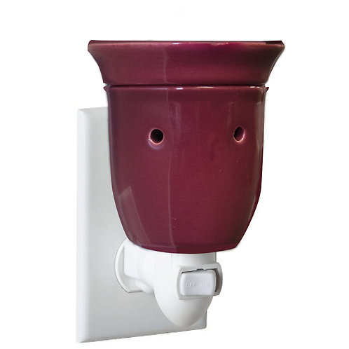Burgundy Plug-in Warmer