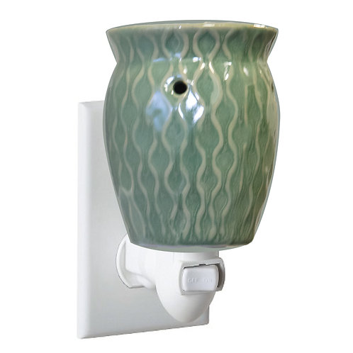 Green/Brown Honeycomb Plug-in Warmer