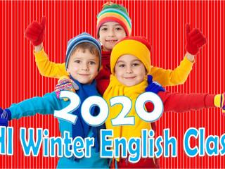 Winter English Class 2020       ウィンター幼児英語クラス2020