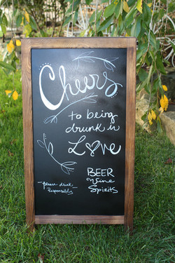 Cheers Bar Easel
