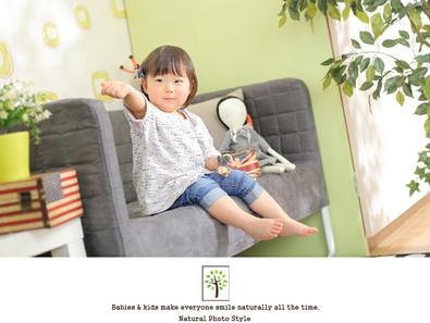 ジウォンちゃん ~2歳のバースデー~