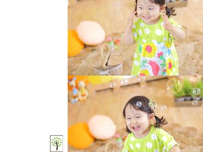 まほちゃん ~2歳のバースデー~