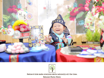 Korean traditional 1st birthday party ~돌상촬영~