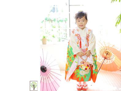 なぎさちゃん ~七五三3歳 着物撮影~