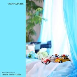 little tree blue curtain set.JPG