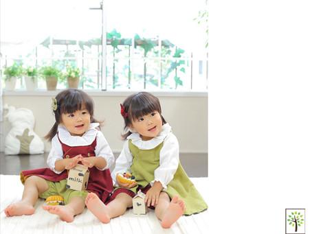 しづきちゃん&ゆづきちゃん ~2歳のバースデー~