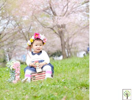 春の野外撮影 ~舎人公園~