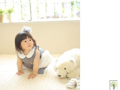 かなちゃん ~1歳のバースデー~