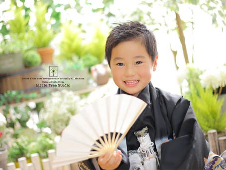 しゅんくん ~七五三5歳 着物撮影~