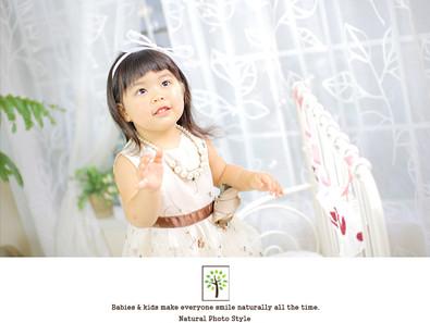 あいりちゃん ~七五三3歳 ドレス撮影~