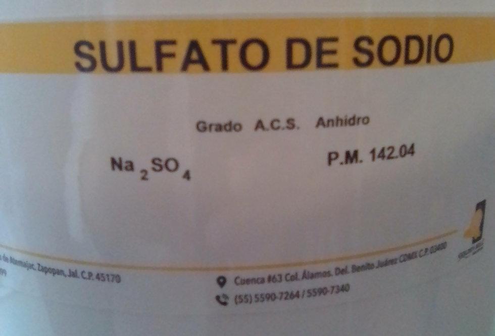 Sulfato de Sodio Anhidro-10Kg