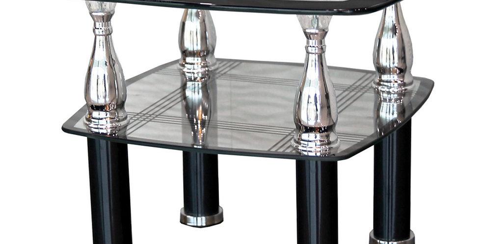 โต๊ะกลาง 50 cm. (ท็อปกระจก) รุ่น แรบบิท