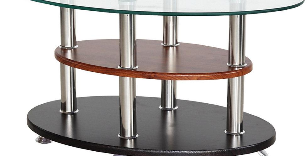 โต๊ะกลาง 70 cm. (ท็อปกระจก) รุ่น ฟีโก้