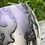 Thumbnail: Violet Raku Horsehair bud vase