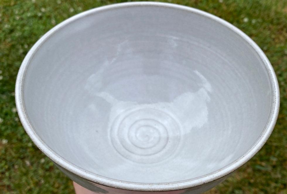 White Serving Bowl