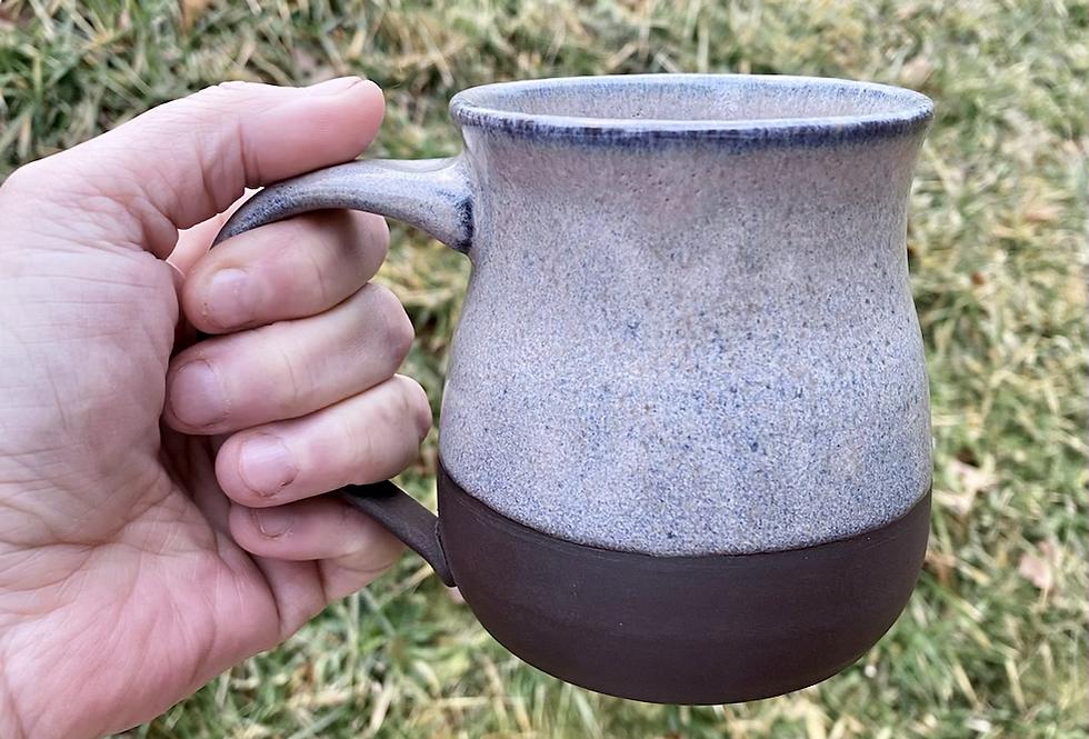 Mountain Frost Curvy Mug