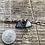 Thumbnail: Mountain Frost Triangle Stud Earrings